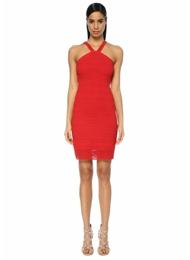 Alaia Elbise Kırmızı
